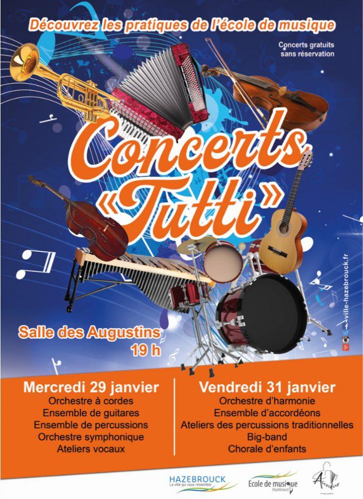 Concert Tutti de l'école de musique