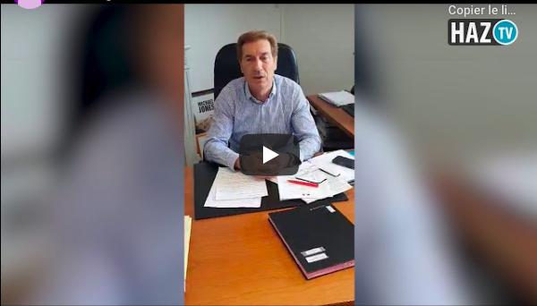 Message de Bernard Debaecker, Maire d'Hazebrouck aux habitants.