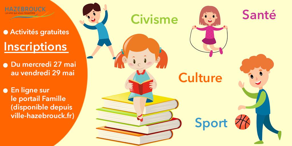 Inscription aux activités 2S2C : sport santé culture civisme
