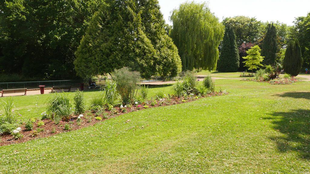 Le jardin public de nouveau ouvert !