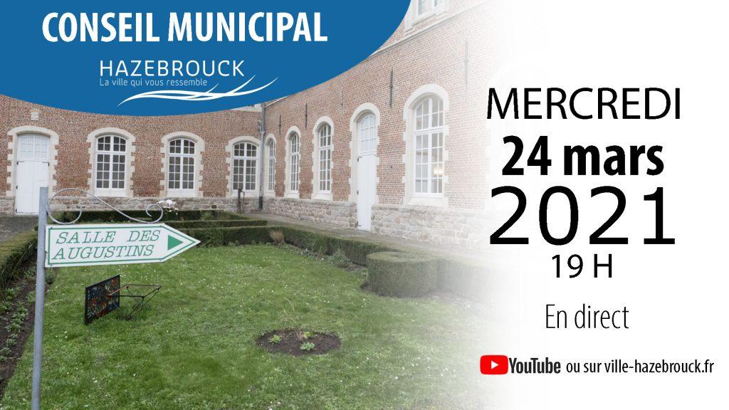 Conseil municipal du 24 mars 2021