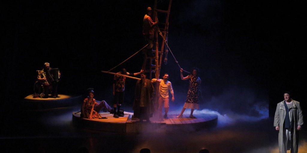 Théâtre :L'Utopie Comique ou l'improbable naufrage