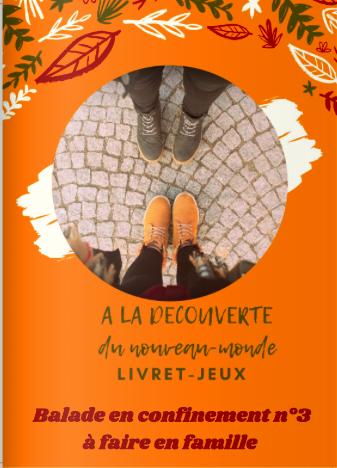 Livret «A la découverte du nouveau Monde»