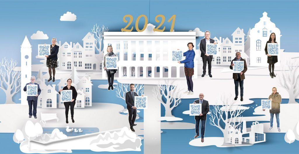 Les élus de la Mairie d'Hazebrouck vous souhaitent une bonne année 2021