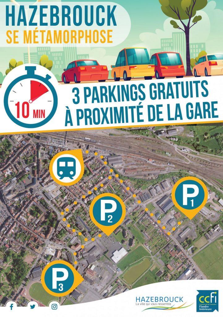 Stationnement : parkings mis à disposition