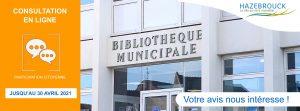 Bibliothèque municipale : votre avis nous intéresse