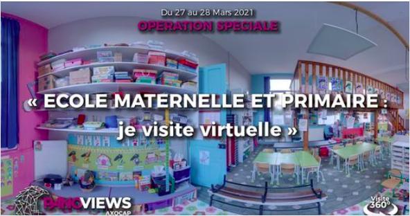 Visites virtuelles des écoles privées