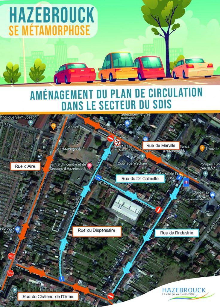 Un nouveau plan de circulation dans le quartier du SDIS