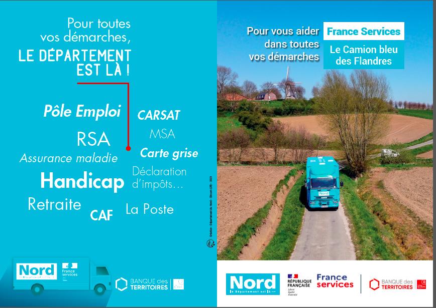 Le bus «France services» de passage à Hazebrouck