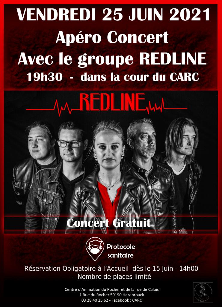Apéro concert Redline