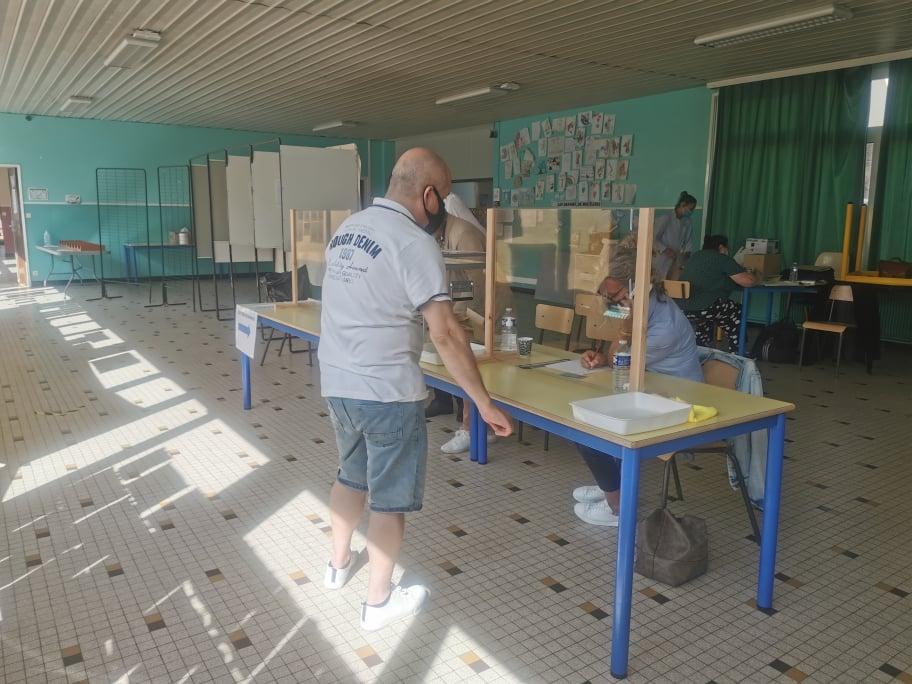 Résultats -1er tour des élections départementales et régionales