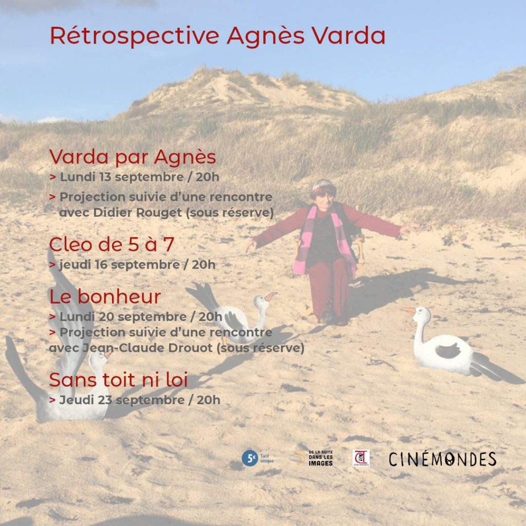 Cinéma – Rétrospective Agnès Varda